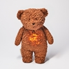 Moonie Knuffel Hartslag en Licht - Bear Caramel