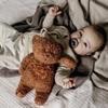Moonie Knuffel Hartslag en Licht - Bear Cappucinno