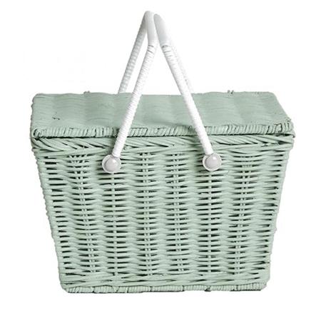Olli Ella Rieten picnick mandje Piki Mint