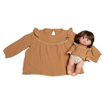 Duo Blouse Camel
