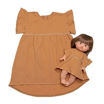 Duo Dress Daisy Camel