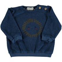 Gull Sun Terry Sweatshirt Blue