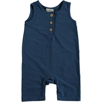 Lobster Playsuit Striped Blue