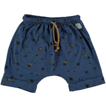 Pier Printed Short Blue