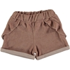 Beans Barcelona Shore Terry Frilly short Pink