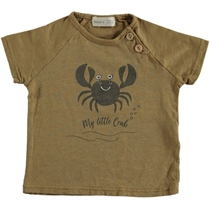Crab T-shirt Camel