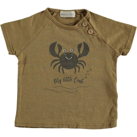 Beans Barcelona Crab T-shirt Camel