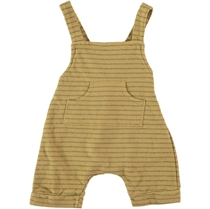 Fleece Pocked Romper Camel