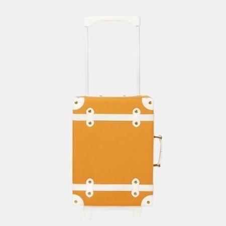 Olli Ella See-ya Suitcase Apricot