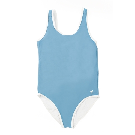 Selva Sauvage Zwempak Sporty Elisa Soft Blue