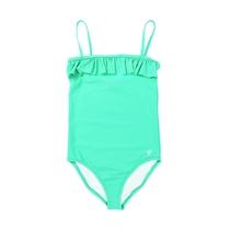 Zwempak Charlotte Aqua Green