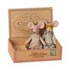 Maileg Mum and Dad in Cigar Box