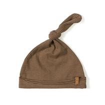 Mutsje Newbie Hat Stripe Toffee