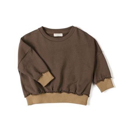 Nixnut Loose sweater Choco
