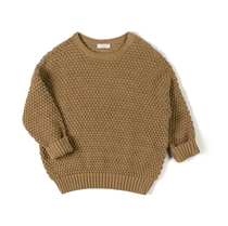 Knit Sweater Tur Toffee