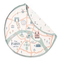 Opbergzak Paris Map